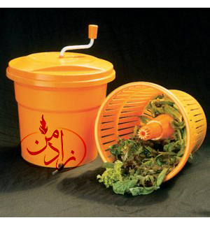 کاهو خشک کن یک وسیله مورد نیاز در آشپزخانه می باشد