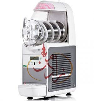 دستگاه بستنی ساز قیفی رومیزی BCream براس ایتالیا: بستنی ساز رومیزی شرکت براس ساخت ایتالیا با یک مخزن شش لیتری قابل استفاده در