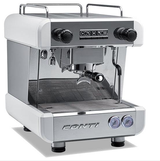 اسپرسو ساز صنعتی مارک کونتی مدل X-one:از محبوب ترین برند های اروپایی در دستگاه های اسپرسو ساز صنعتی میتوان به مارک کونتی (conti) که ساخت موناکد فرانسه میباشد،اشاره کرد.