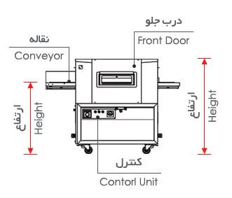 Nogen Pizza Oven Model 3040SG   فر پیتزا نوژن مدل 3040SG
