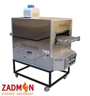 فر پیتزا ریلی دو ردیفه مجملی مدل MIM2-B1000